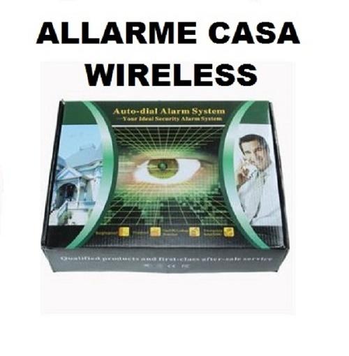 Sistema di allarme casa ufficio garage antifurto wireless - Allarme casa wireless ...