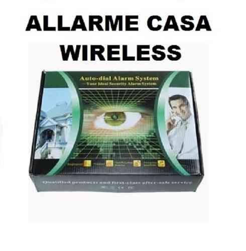 Casa immobiliare accessori allarme casa con fili - Antifurti per casa wireless ...