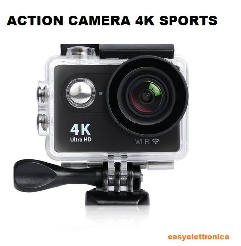 ACTION CAMERA 4K SPORTS ULTRA HD DV 30 METRI 16 MEGA PIXELS CAM FOTOCAMERA WATERPROOF SUBAQUEA