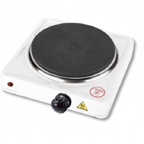 Fornello elettrico 1000w regolabile piastra in ghisa da for Fornello campeggio elettrico